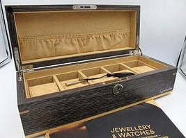 Шкатулка для зберігання 5 годин дерев'яна Salvadore WB/2320/5.GLX