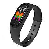 Фитнес браслет Xiomi Mi Band 5 Спортивный трекер смарт часы M5 для смартфона Android IOS Bluetooth, фото 2