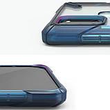 Чехол для Samsung Galaxy A21s Ringke Fusion X цвет SPACE BLUE (космический синий), фото 5