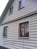 Блок Хаус вініловий під колоду Альта-Профіль (Блок хаус Слім)