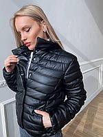 Женская демисезонная куртка из эко кожи