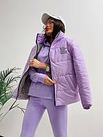 Женская демисезонная куртка с надписями
