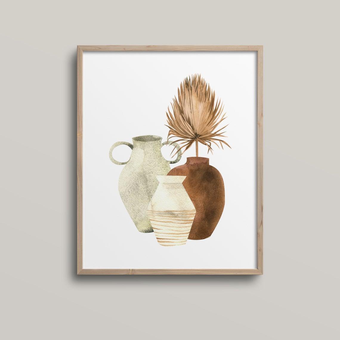 Постер Terracotta Pot  формат А3