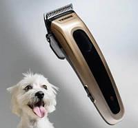 Машинка для стрижки шерсти животных беспроводная Tiross TS-1348 (машинка для груминга) Гарантия 12 месяцев