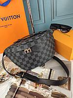 Модная сумка на пояс бананка Louis Vuitton Луи Витон ЛВ