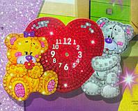 Мозаичные часы Мишки (Сделай Сам), ТМ Danko Toys, фото 1