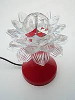 Настольный вращающийся проектор диско лампа, фото 1