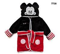 Халат Mickey Mouse для мальчика. 110, 130 см