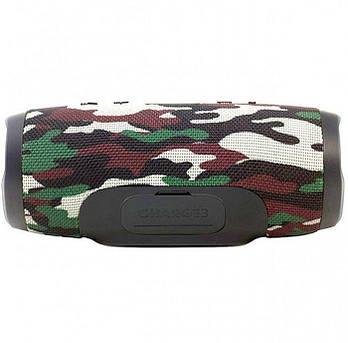 Портативная колонка Charge 3 с bluetooth camouflage