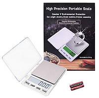 Професійні електронні цифрові ювелірні ваги високоточні xy-8007 до 600 грам (крок 0.01), white,, фото 1