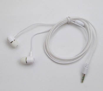 Вакуумные наушники (силиконовый кабель)