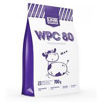 Протеин UNS WPC 80, 700 г, Бананово-Клубничное Мороженое Banana Strawberry Ice Cream