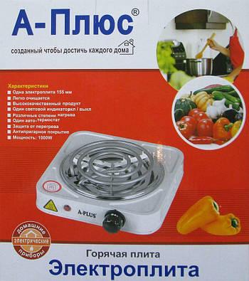 Електроплита А-плюс Hp 2101, 1000Вт