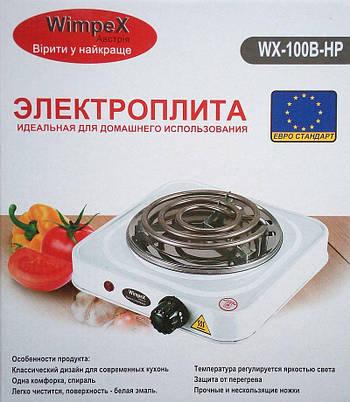Електроплита Wimpex HpWx-100b, 1000Вт