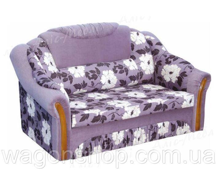 Диван - малютка Вертус тм Аліс-меблі Фіолетовий з візерунком