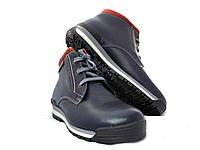 Ботинки мужские кожаные спортивные, фото 1