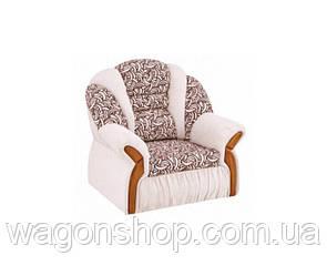 Кресло - кровать Вест тм Алис-мебель Белый с узором