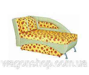 Дитячий диван тм Бембі Аліс - меблі сірий з візерунком на жовтому