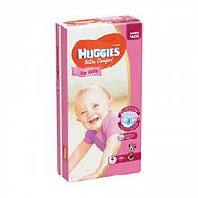 Підгузки Huggies Ultra Comfort для дівчаток, розмір 4, (7-16 кг), 50 шт