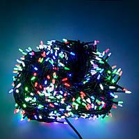 Светодиодная гирлянда на елку, 65 м, лед гирлянда, на 1000 ламп, елочная гирлянда новогодняя (TI), фото 1