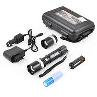 Ліхтар Police BL8626-2 50000W з ультрафіолетом (акумулятор, 2 зарядки, упаковка,2 голови), фото 1