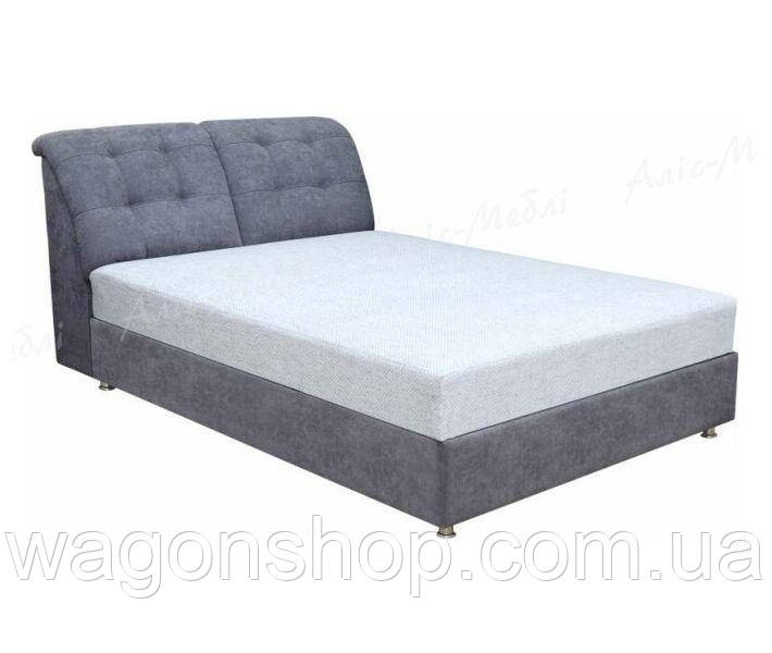 Кровать Маэстро №2 трикотаж тм Алис-мебель 160х200 см