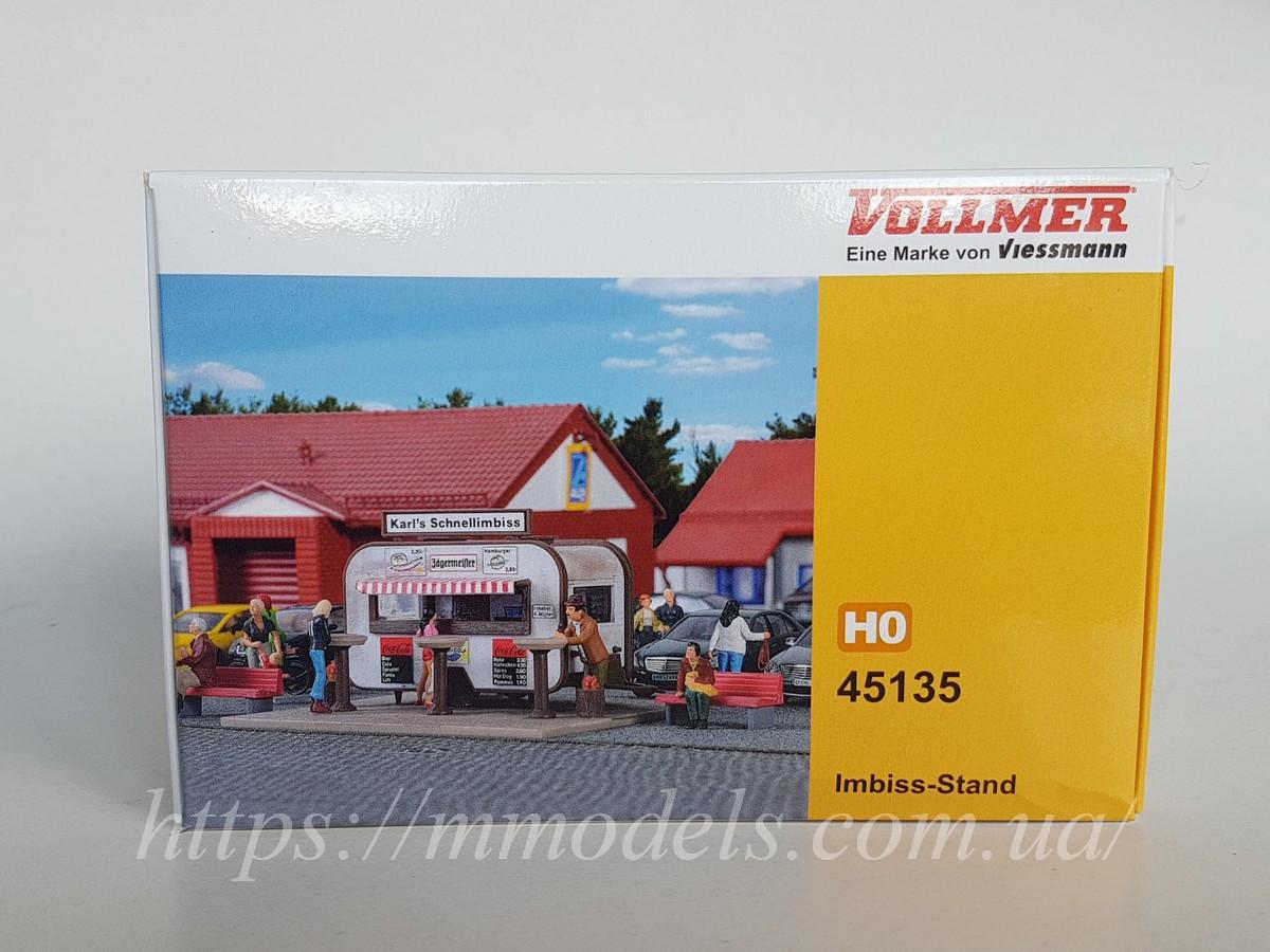 Vollmer 45135 Аксесуари для моделювання - автомобільний кіоск, масштабу 1/87, H0