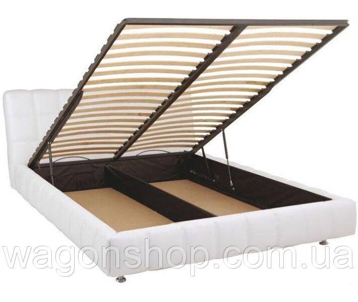 Ліжко Люкс залізний каркас тм Аліс-меблі 180х200 см