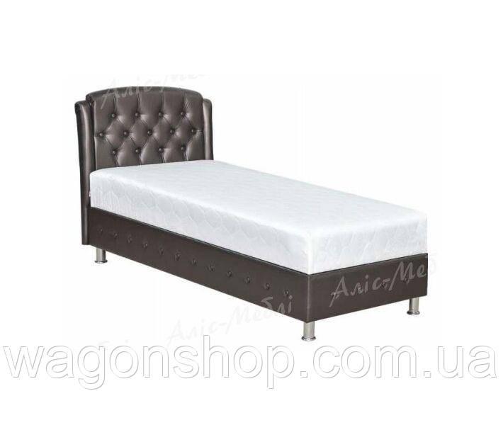 Ліжко Монсерат трикотаж односпальне тм Аліс-меблі