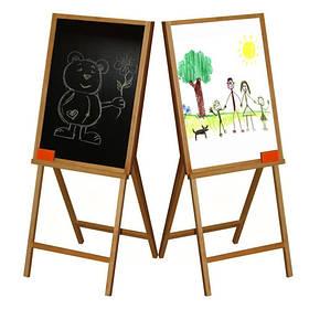 Мольберт для рисования 2-сторонний (60*70*105) ВП-007 Винни Пух