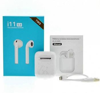 Беспроводные наушники i11 Tws Bluetooth 5.0 Sensor