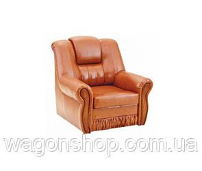 Кресло - кровать Клинтон тм Алис-мебель Оранжевый глянец