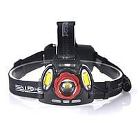 Налобний ліхтар акумуляторний X-balog Bl-c862-t6, фото 1