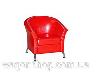 Кресло Комби 1 тм Алис-мебель Красный