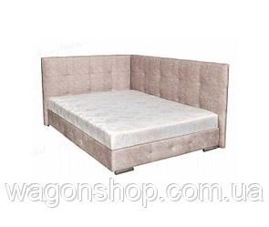 Ліжко Мега трикотаж з 2-ма спинками тм Аліс-меблі