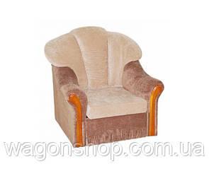 Кресло - кровать Алиса тм Алис-мебель Бежевый с серым