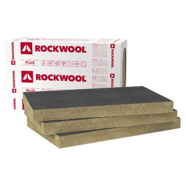 Базальтовая вата Rockwool Ventirock F PLUS (Роквул Вентирок Ф Плюс) с стеклохолстом (50 мм)