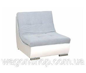 Кресло Арена тм Алис- мебель Серо белый