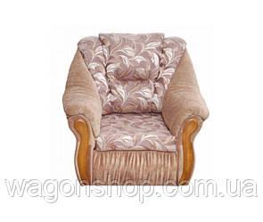 Крісло - ліжко Глорія тм Аліс - меблі Бежевий з візерунком