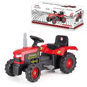 Трактор на педалях DOLU (8050), 33*83,5*43 см