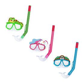 BW Набір для плавання 24059 3 кольори, маска, трубка, від 3 років