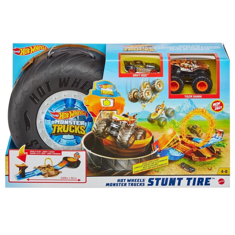 """Ігровий набір """"Трюки у шині"""" серії """"Monster Trucks"""" Hot Wheels"""