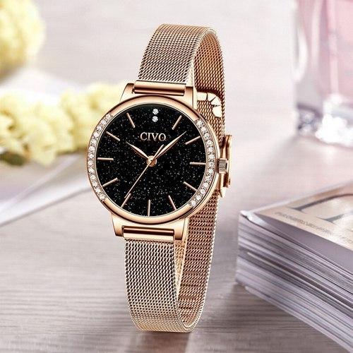 Часы наручные женские Chronte 8115C Cuprum-Black