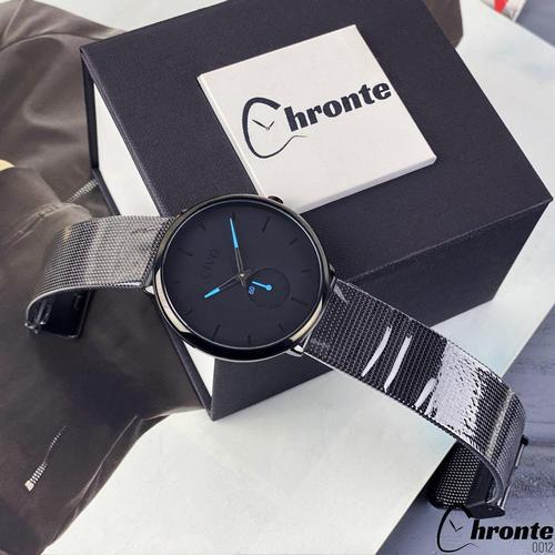 Чоловічі наручні годинники Chronte Bradley Black-Blue