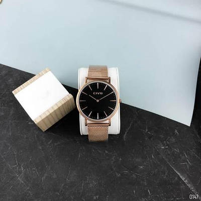 Часы Chronte Meryl Big Cuprum-Black