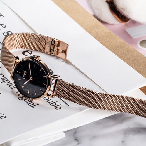 Часы наручные женские Chronte Meryl Cuprum-Black Shine
