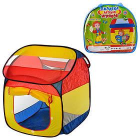 Палатка M 0509  домик, 87-82-97см, 1вход, 2окна, в сумке, 38-40-6см