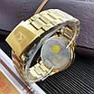 Часы наручные мужские Curren 8322 Gold-Blue минимализм, фото 2