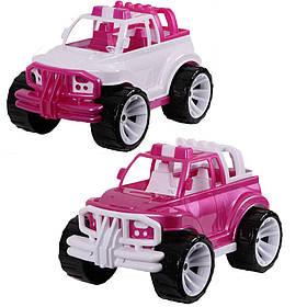 """Іграшка дитяча """"Позашляховик класичний рожевий великий» арт 339"""