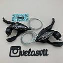 Моноблоки на велосипед , для shimano, манетки 3*7, фото 2